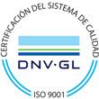 Certificación sistema calidad DNV-GL ISO 9001